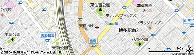 不二ラテックス株式会社福岡営業所周辺の地図