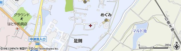 大分県中津市是則1118周辺の地図
