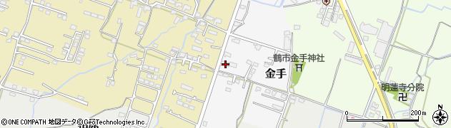 大分県中津市金手129周辺の地図