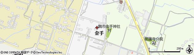 大分県中津市金手140周辺の地図