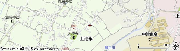 大分県中津市上池永239周辺の地図