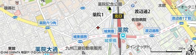 誠花堂 八千代鍼灸院周辺の地図