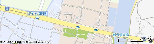 大分県中津市今津29周辺の地図