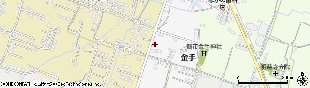 大分県中津市金手130周辺の地図