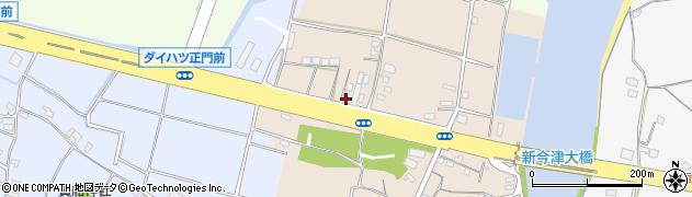 大分県中津市今津28周辺の地図