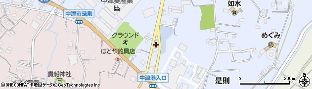 大分県中津市是則751周辺の地図