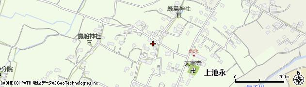 大分県中津市上池永908周辺の地図