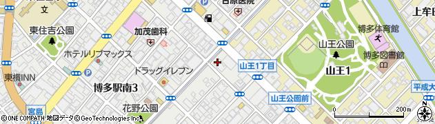 グラティエ博多駅南店周辺の地図