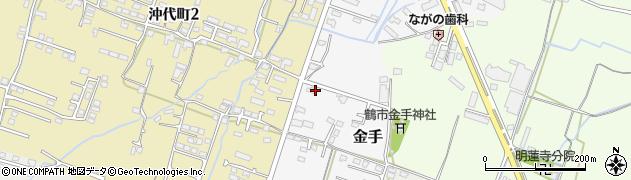 大分県中津市金手135周辺の地図