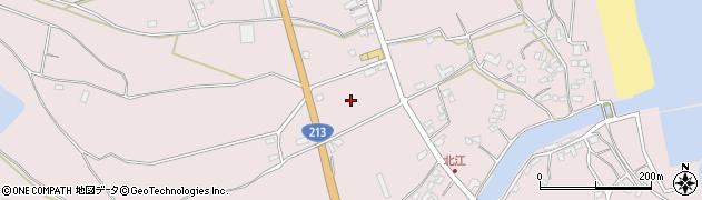 大分県国東市国東町北江3122周辺の地図