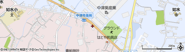 大分県中津市上如水1235周辺の地図