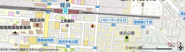 高山質店チケットショップ姪浜店周辺の地図