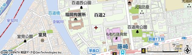 藤崎団地周辺の地図