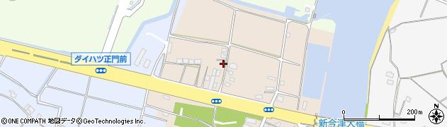 大分県中津市今津15周辺の地図