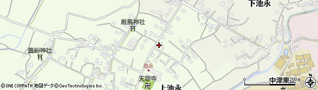 大分県中津市上池永333周辺の地図
