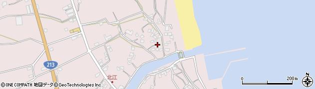 大分県国東市国東町北江3630周辺の地図