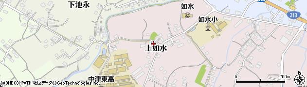 大分県中津市上如水37周辺の地図