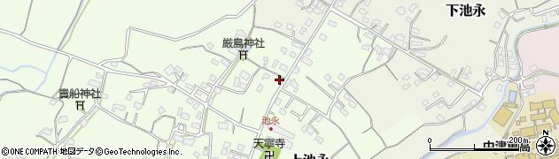 大分県中津市上池永378周辺の地図