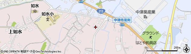 大分県中津市上如水351周辺の地図