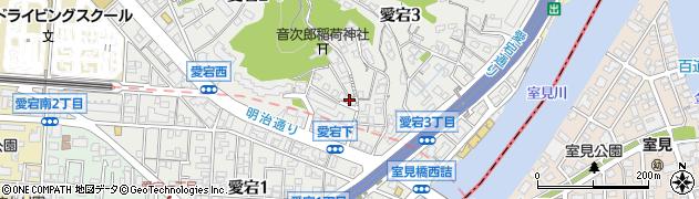 稲富登記測量事務所周辺の地図