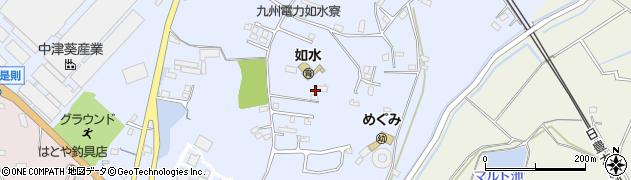 大分県中津市是則1080周辺の地図
