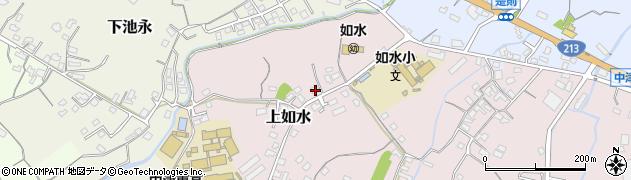 大分県中津市上如水59周辺の地図