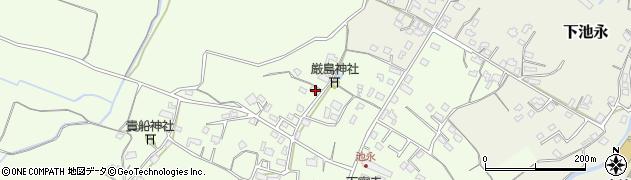 大分県中津市上池永966周辺の地図