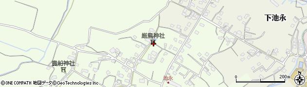大分県中津市上池永400周辺の地図