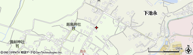 大分県中津市上池永317周辺の地図