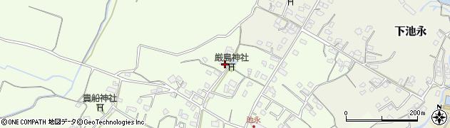 大分県中津市上池永979周辺の地図