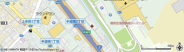 NIPPO 福岡出張所周辺の地図
