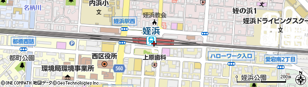 福岡県福岡市西区周辺の地図