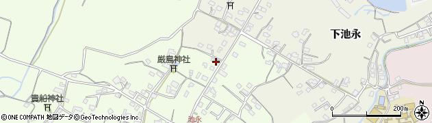 大分県中津市上池永392周辺の地図