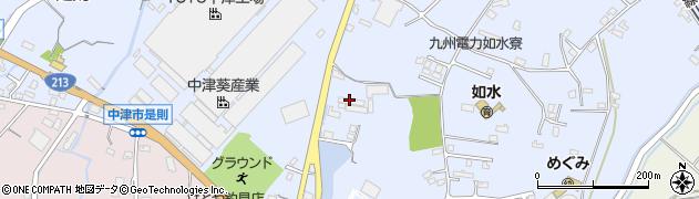 大分県中津市是則1067周辺の地図