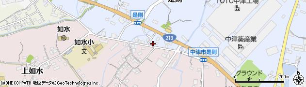大分県中津市是則169周辺の地図
