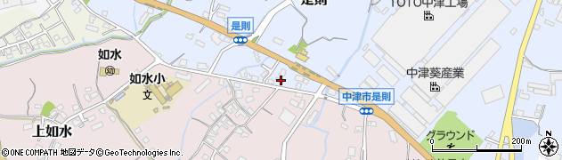 大分県中津市是則170周辺の地図