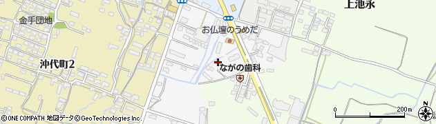 大分県中津市金手14周辺の地図