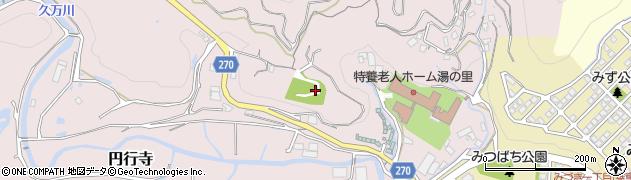 高知県高知市円行寺周辺の地図