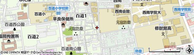 西南学院 大学学内関係業者株式会社キャンパスサポート西南周辺の地図