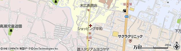 大分県中津市上宮永326周辺の地図