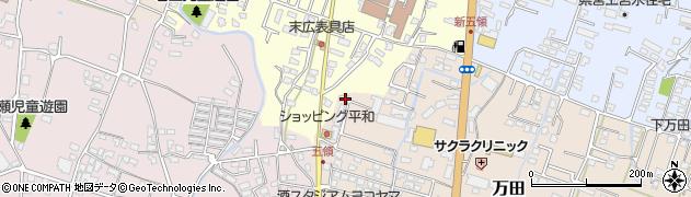 大分県中津市上宮永331周辺の地図