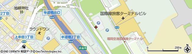 福岡県福岡市博多区青木周辺の地図