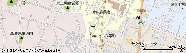大分県中津市上宮永980周辺の地図