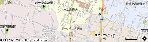大分県中津市上宮永329周辺の地図