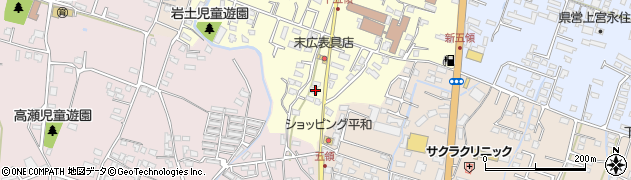 大分県中津市上宮永314周辺の地図