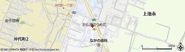 大分県中津市金手34周辺の地図