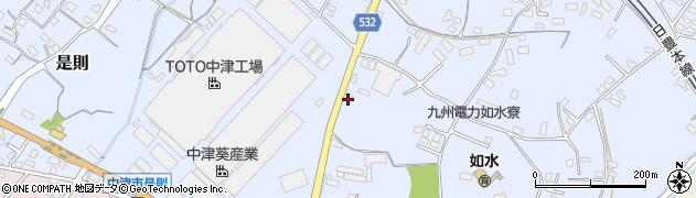 大分県中津市是則1057周辺の地図