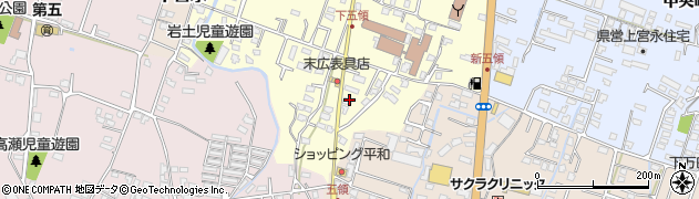 大分県中津市上宮永312周辺の地図