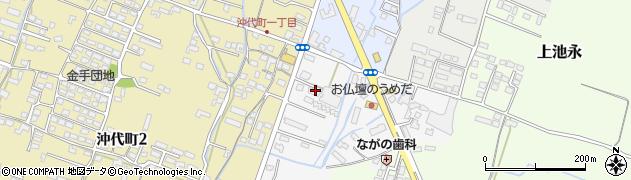 大分県中津市金手46周辺の地図