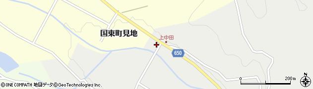 大分県国東市国東町中田2789周辺の地図